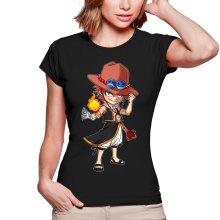 T-shirts Femmes  parodique Ace et Natsu : L