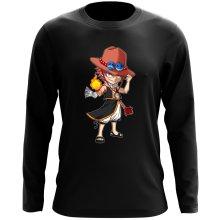 T-Shirts à manches longues  parodique Ace et Natsu : L