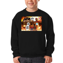 Sweat-shirts (French Days)  parodique Luffy Vs Kaido aka Eren et le Titan Colossal : Un Combat titanesque... (Parodie )