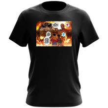 T-shirts (French Days)  parodique Luffy Vs Kaido aka Eren et le Titan Colossal : Un Combat titanesque... (Parodie )