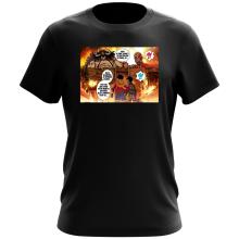 T-shirt  parodique Luffy Vs Kaido aka Eren et le Titan Colossal : Un Combat titanesque... (Parodie )