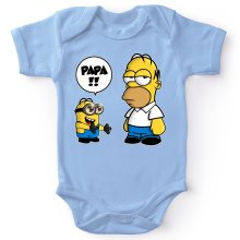 Bodys  parodique Homer Simpson et Kévin le Minion : Un fiston trop mignon (Super Deformed) (Parodie )