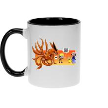 Mugs  parodique Naruto et Kyubi X Sasha et Pikachu : Un nouveau dresseur... (Parodie )