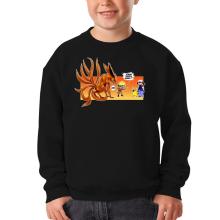Sweat-shirts  parodique Naruto et Kyubi X Sasha et Pikachu : Un nouveau dresseur... (Parodie )