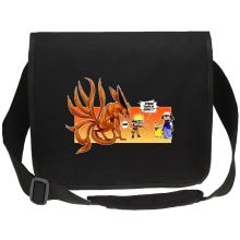 Sacs bandoulière Canvas  parodique Naruto et Kyubi X Sasha et Pikachu : Un nouveau dresseur... (Parodie )