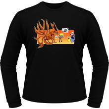 T-Shirts à manches longues  parodique Naruto et Kyubi X Sasha et Pikachu : Un nouveau dresseur... (Parodie )