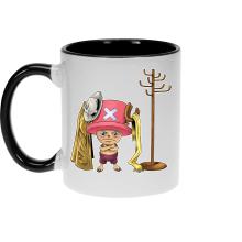 Mugs  parodique Tony Tony Chopper : Un pirate complètement cintré.... :) (Parodie )