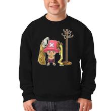 Sweat-shirts  parodique Tony Tony Chopper : Un pirate complètement cintré.... :) (Parodie )