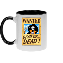 Mugs  parodique Brook Wanted : Un Wanted qui tue !! YOHOHOHO !!! (Parodie )