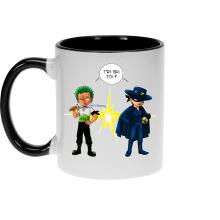Mugs  parodique Zorro Roronoa : D
