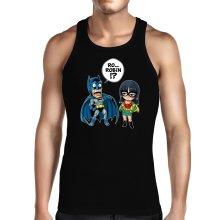 Débardeurs  parodique Batman et Robin : Une équipe de choc !! (Parodie )