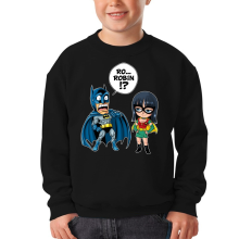 Sweat-shirts  parodique Batman et Robin : Une équipe de choc !! (Parodie )