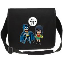 Sacs bandoulière Canvas  parodique Batman et Robin : Une équipe de choc !! (Parodie )