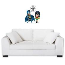 Décorations murales  parodique Batman et Robin : Une équipe de choc !! (Parodie )