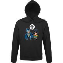 Sweats à capuche  parodique Batman et Robin : Une équipe de choc !! (Parodie )