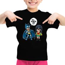 T-shirts  parodique Batman et Robin : Une équipe de choc !! (Parodie )