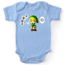 Body bébé  parodique Link et la Fée Navi : Une fée pratique mais agaçante... (Parodie )