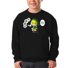 Pull Enfant  parodique Link et la Fée Navi : Une fée pratique mais agaçante... (Parodie )