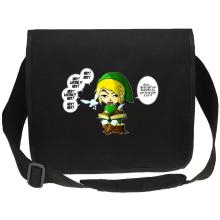 Sac bandoulière Canvas  parodique Link et la Fée Navi : Une fée pratique mais agaçante... (Parodie )