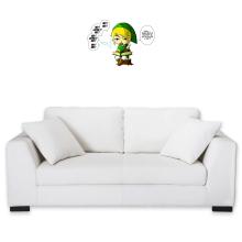 Sticker Mural  parodique Link et la Fée Navi : Une fée pratique mais agaçante... (Parodie )