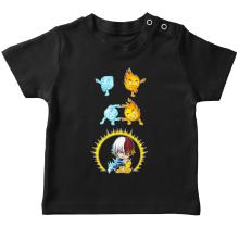 T-shirt bébé  parodique Shoto Todoroki : Une parodie givrée (Parodie )