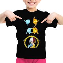 T-shirt Enfant Fille  parodique Shoto Todoroki : Une parodie givrée (Parodie )