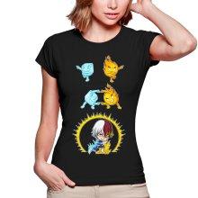 T-shirts Femmes  parodique Shoto Todoroki : Une parodie givrée (Parodie )