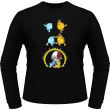 T-Shirts à manches longues  parodique Shoto Todoroki : Une parodie givrée (Parodie )