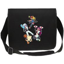 Sacs bandoulière Canvas  parodique Pikachu, Sasha et la Team Rocket : Une partie de Poké-Ball :) (Parodie )