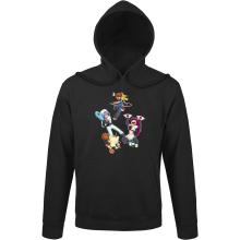 Sweats à capuche  parodique Pikachu, Sasha et la Team Rocket : Une partie de Poké-Ball :) (Parodie )