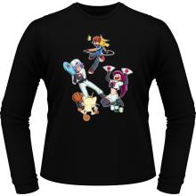 T-Shirts à manches longues  parodique Pikachu, Sasha et la Team Rocket : Une partie de Poké-Ball :) (Parodie )
