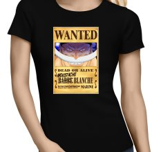 T-shirts Femmes  parodique Edward Newgate - Barbe Blanche : Le Wanted secret... :) (Parodie )