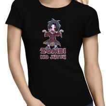 T-shirts Femmes  parodique Itachi X Walking Dead : Zombi no Jutsu !! (Parodie )